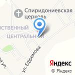 Пожарная часть №111 пос. Санниково на карте Барнаула