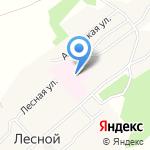 Первомайский психоневрологический интернат на карте Барнаула