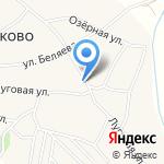 Санниковское на карте Барнаула