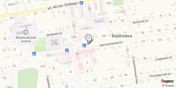 Джема. Схема проезда в Березовке