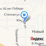 Белый Клён на карте Барнаула
