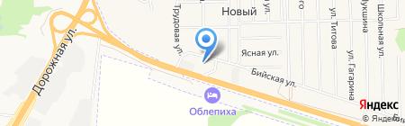 АГЗС АвтоГаз на карте Барнаула