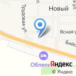 АвтоГаз на карте Барнаула