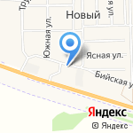 КОРПОРАЦИЯ ЕНИСЕЙ на карте Барнаула