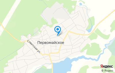 Местоположение на карте пункта техосмотра по адресу Алтайский край, Первомайский р-н, с Первомайское, ул Рабочая, д 27А