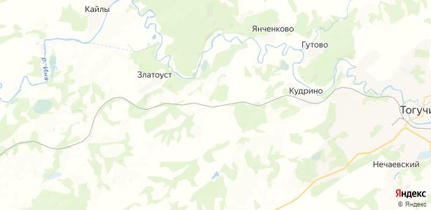 Мезениха на карте