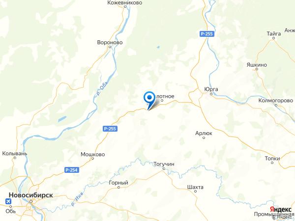 деревня Киевка на карте