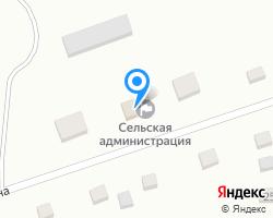 Схема местоположения почтового отделения 658071