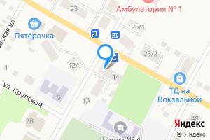 Сдается однокомнатная квартира в Тогучине Вокзальная улица, 44