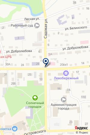 ОВД ПО ТОГУЧИНСКОМУ РАЙОНУ на карте Тогучина