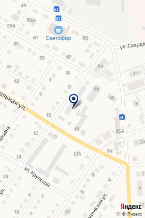 АЗС № 1 на карте Тогучина