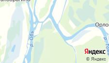 Базы отдыха города Козюлино на карте