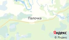 Отели города Палочка на карте