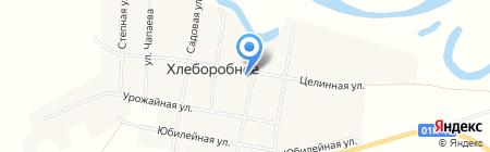 Почтовое отделение на карте Хлеборобного