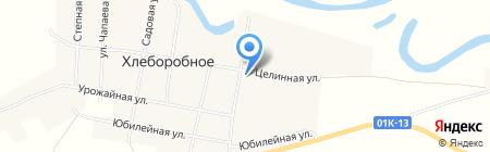 Хлеборобный на карте Хлеборобного