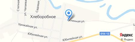 Сбербанк России на карте Хлеборобного