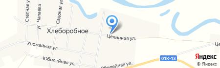 Виктория №1 на карте Хлеборобного