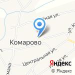 Комаровская основная общеобразовательная школа на карте Бийска