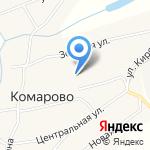 Комаровский сельский клуб на карте Бийска