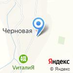 Черновская основная общеобразовательная школа на карте Бийска
