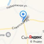 Аптечный пункт на карте Бийска
