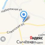 Администрация Сычёвского сельсовета Смоленского района на карте Бийска