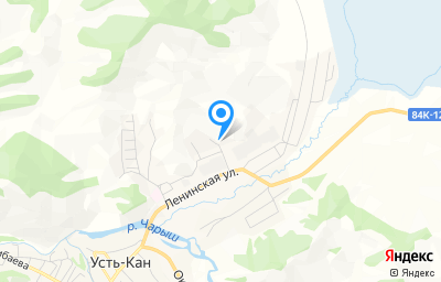 Местоположение на карте пункта техосмотра по адресу Респ Алтай, с Усть-Кан, ул Дорожников, д 21А