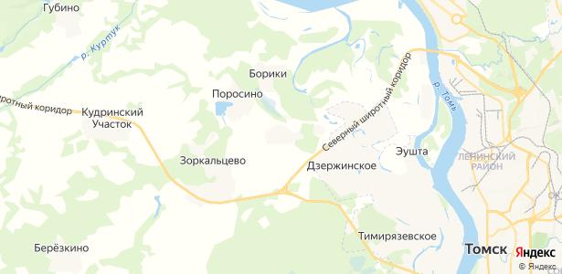 Петрово на карте