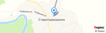 Универсальный магазин на карте Старотырышкино