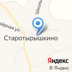 Старотырышкинский фельдшерско-акушерский пункт на карте Бийска