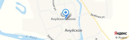 Вера Надежда Любовь на карте Ануйского