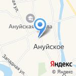 Ануйская врачебная амбулатория на карте Бийска