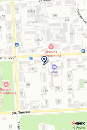 БАЙДА А.З. на карте Северска