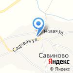 Сельская библиотека на карте Бийска