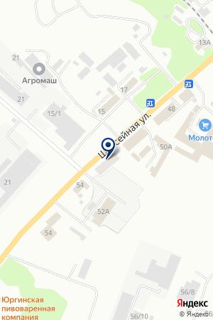 СКЛАД ГСМ на карте Юрги