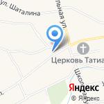 Новотырышкинское сельское потребительское общество на карте Бийска
