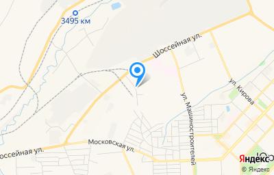 Местоположение на карте пункта техосмотра по адресу Кемеровская область - Кузбасс, г Юрга, ул Шоссейная, д 40/37