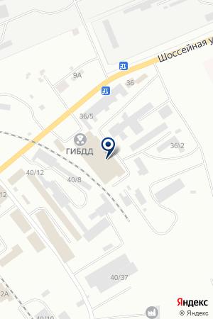 АЗС НЕФТЕТРЕЙД на карте Юрги
