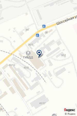 АЗС ПЕТУХОВ О.Н. на карте Юрги