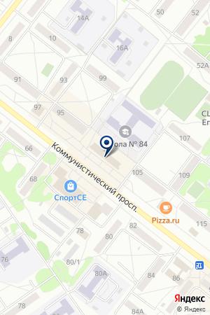 БАНК ТОМСКПРОМСТРОЙБАНК на карте Северска