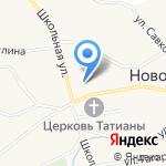 Новотырышкинская средняя общеобразовательная школа на карте Бийска