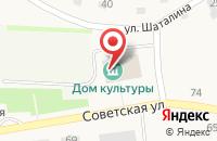 Схема проезда до компании Вод-Сервис в Новотырышкино