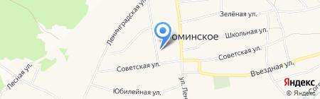 Фоминская врачебная амбулатория на карте Бийска