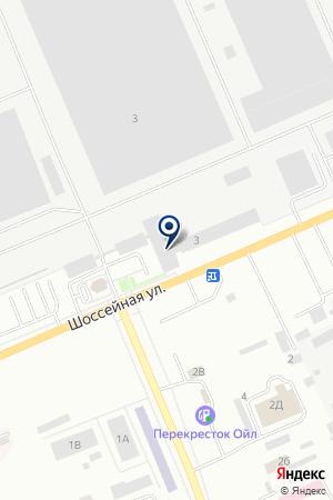АВТОМОБИЛЬНЫЙ ЦЕХ № 70 на карте Юрги