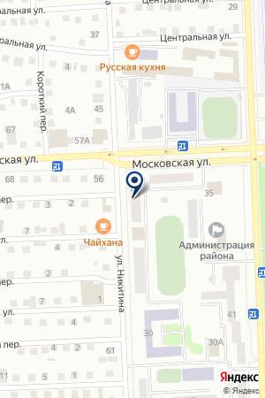 СВАДЕБНЫЙ САЛОН НЕВЕСТА на карте Юрги