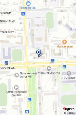 СЕРВИСНАЯ ФИРМА ФЕОРАНА на карте Юрги