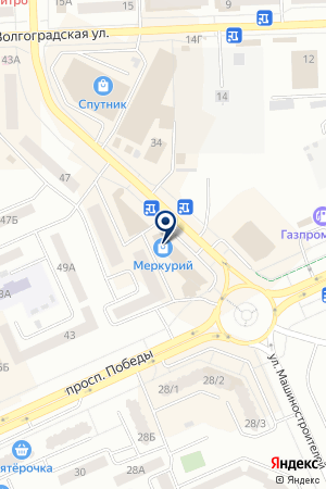 ТОРГОВАЯ ФИРМА ОРИВЛЕЙН на карте Юрги