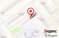 Схема проезда до компании Frends only в Федюково