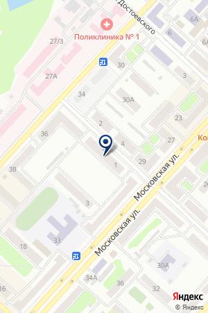 ТОРГОВАЯ КОМПАНИЯ ФИНАНСИСТ на карте Юрги