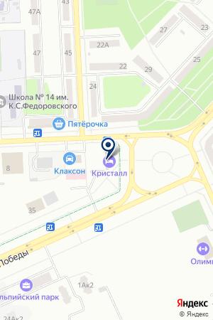 АВТОСТОЯНКА КАРПОВ В.Г. на карте Юрги